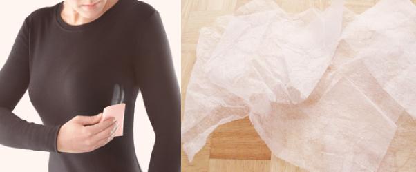 Hay una forma segura de quitar manchas de desodorante que puedes compartir con tu empleada doméstica!