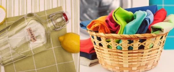 Muestrale a tu empleada doméstica cómo usar el vinagre como suavizante para la ropa