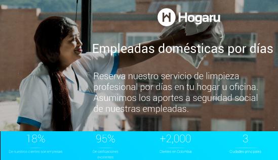 Ahora puedes pedir por internet la limpieza para tu hogar y oficina con empleadas domésticas confiables