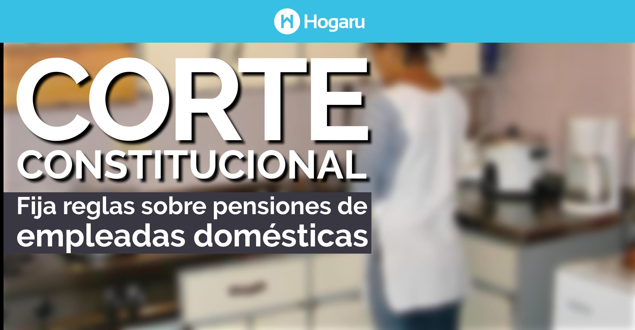 pensiones de empleadas domésticas