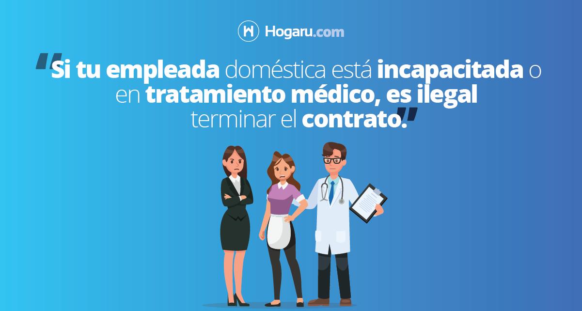 Millonarias multas por terminacion de contrato durante una for Contrato para empleada domestica